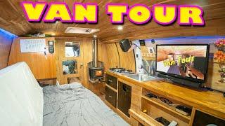 Download STEALTH VAN LIFE TOUR | Extremely ORGANIZED Cargo Van Conversion Video