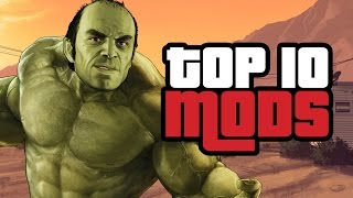 Download Top 10 Grand Theft Auto 5 Mods Video