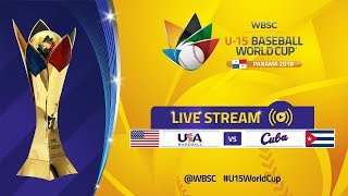 Download USA v Cuba - Super Round - U-15 Baseball World Cup 2018 Video
