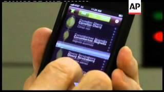 Download Phone app identifies tree species Video