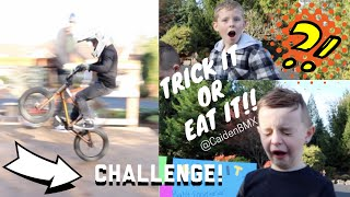Download BMX Trick It OR Eat It Challenge!!! Video