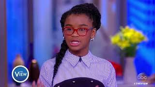Download Marley Dias Talks Encouraging Kids To Read, Getting Kids Involved In Activism | The View Video