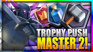 Download TROPHY PUSH w/ BEST PEKKA DECK!! 5200 Master 2 League!! - Clash Royale Video