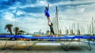 Download World's Best Trampoline Tricks! in 4K! Eurotramp Video