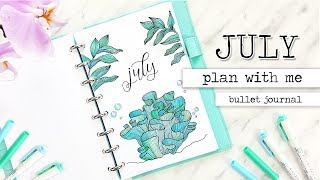 Download PLAN WITH ME | JULY Bullet Journal Monthly Setup + June Flip-Through Video