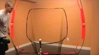 Download Bownet Big Mouth Review Portable Baseball Training Net Video
