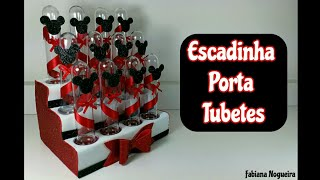 Download Escadinha Porta Tubete Feito com EVA e Material Reciclável ♥️🍭 Video