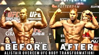Download Alistair Overeem UFC Body Transformation Over The Years Video