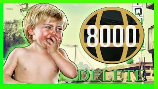 Download GTA 5 Level 8000 Delete Characters Trolling Online Part 2 (OMG) Video
