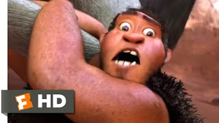 Download The Croods (2013) - Hunting For Breakfast Scene (1/10) | Movieclips Video