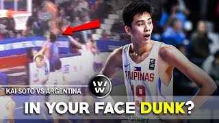 Download Kai Sotto Highlights vs Argentina | IN YOUR FACE DUNK? Video