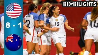 Download USA vs New Zealand 8 - 1 All Goals & Highlights | Last 2 Games Video