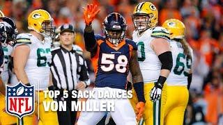 Download Top 5 Von Miller Sack Dances | NFL Now Video
