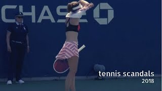 Download Tennis TOP5. Scandals and Tantrums in 2018 Video