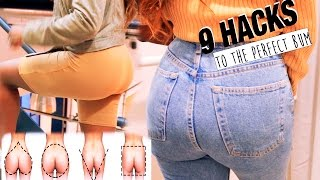 Download 9 HACKS TO THE PERFECT LOOKING BUM FOR YOUR BUTT SHAPE Video