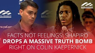 Download FACTS NOT FEELINGS: Shapiro drops a massive truth bomb right on Colin Kaepernick Video