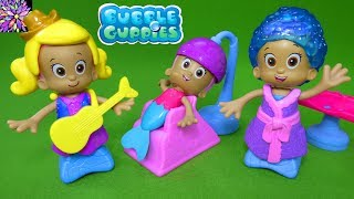 Download Bubble Guppies Snap and Dress Molly Salon Deema Oona Hairstyle Ballerina Cowgirl Princess Toys Video Video