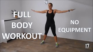 Download Full body workout for women – at home with no equipment Video