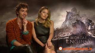 Download Robert Sheehan and Leila George talk feet, Mortal Engines, and working with CGI Video