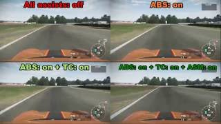 Download Driving Assists in racing games: The Truth Video