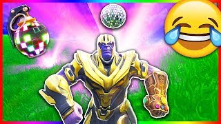 Download Boogie Bombing THANOS For The Win! 😂 (Fortnite Funny Moments) Video