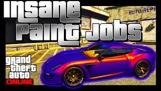 Best GTA 5 SECRET Paint Jobs 1 32/1 27: TOP 5 SEXY PAINT