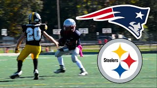 Download Steelers Vs Patriots   JV Football Video