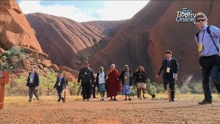 Download His Holiness the Dalai Lama's visit to Uluru, Australia Video