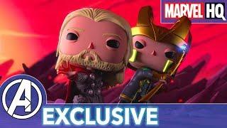 Download Marvel Funko Presents: Mjolnir Mischief (starring Thor & Loki)   EXCLUSIVE Video