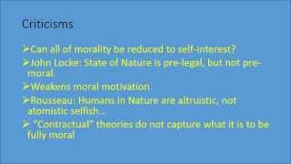 Download Hobbes' Social Contract Theory Video