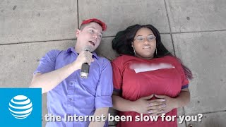 Download OMGChad takes on AT&T Fiber with Kristin | AT&T Video