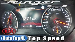 Download KIA STINGER GT 3.3 V6 AWD ACCELERATION & TOP SPEED 0-271km/h by AutoTopNL Video