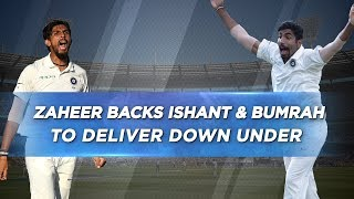 Download Bumrah will provide the X-factor to the bowling attack - Zaheer Khan Video