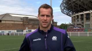 Download Scotland rugby legend Chris Paterson on the art of the kick off. Video