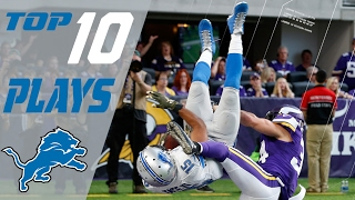 Download Lions Top 10 Plays of the 2016 Season | NFL Highlights Video
