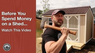Download Before You Spend Money on A Shed…Watch This Video Video