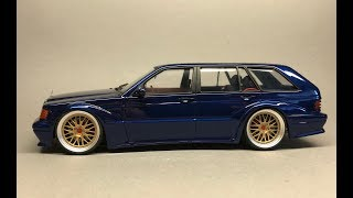Download Fujimi/Scaleproduction: Mercedes Benz 190E EVO II Touring Full Build Step by Step Video