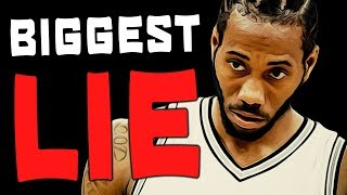 Download The BIGGEST LIE Told About Kawhi Leonard! Video
