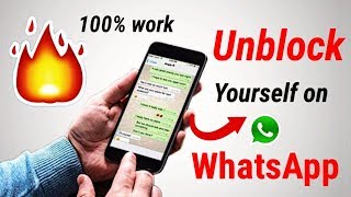 Download How to unblock yourself on WhatsApp   unblock whatsapp without deleting account Video