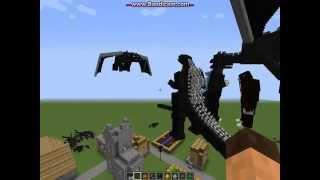 Download Minecraft Godzilla Mod Update part 1 of 2 Video
