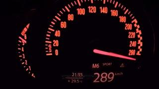 Download MG Performance Mini JCW - insane POV top speed run on the Autobahn Video