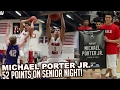 Download Michael Porter Jr GOES OFF! 52 PTS, 23 REB on Senior Night! | Nathan Hale BLOWOUT VS Seattle Prep Video