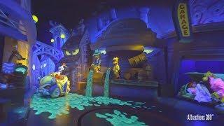 Download [4K] Roger Rabbit's Dark Ride at Disneyland 2017 Video