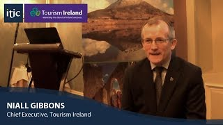 Download Niall Gibbons discusses Tourism Ireland's marketing strategy for 2018 Video