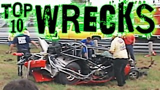 Download Top 10 Race Car WRECKS! Video