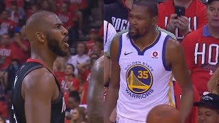 Download Chris Paul Tells Kevin Durant ″Shut Up and Play Ball″ For Complaining About Foul! Video