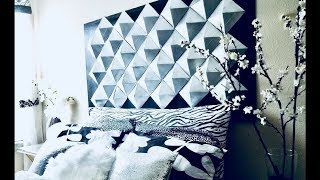 Download Easy Diy 3D Wall Decor/Headboard for Homes Using Recycled Cereal Boxes!!! Video