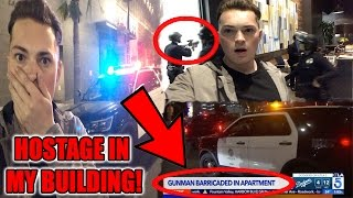 Download GUNMAN IN MY APARTMENT! (HOLDING SOMEONE HOSTAGE) Video