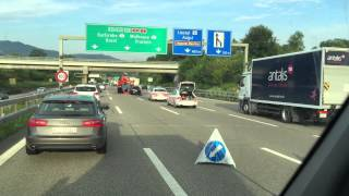 Download BASEL AUTOBAHN UNFALL AUDI Video