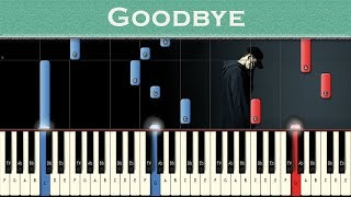 Download NF - Goodbye | Piano instrumental | Tutorial Video